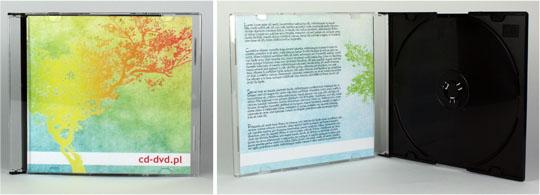 Pudełko Slim, okładka CD