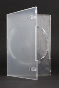 Pudełko DVD transparentne