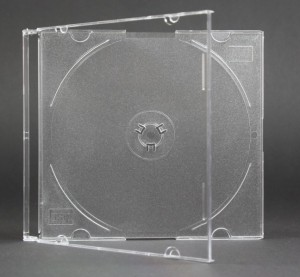 Pudełko slim transparentne