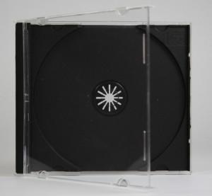 Pudełko jewel z czarną tacką