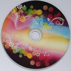 płyta CD - nadruki na płytach